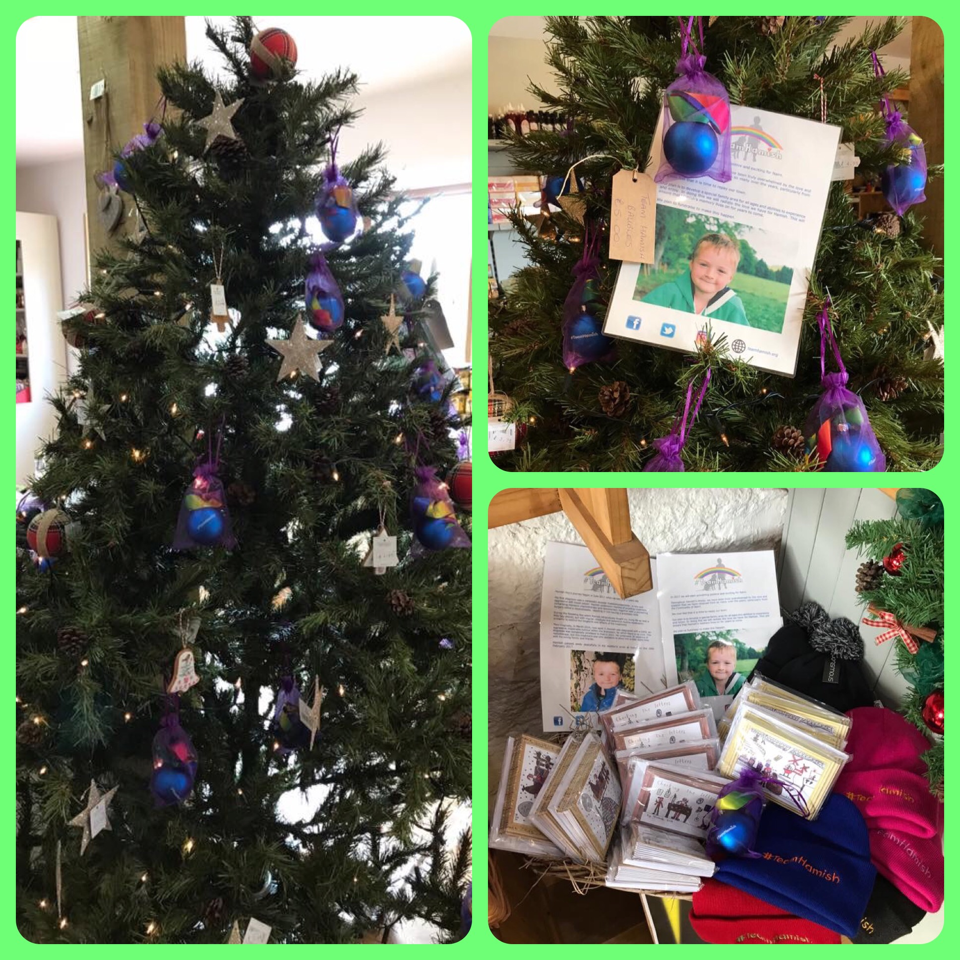 Christmas Cards and Baubles – #TeamHamish